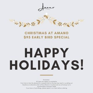 With Christmas just around the corner, don't leave the party arrangement to the last minute! Secure your waterfront dining experience at our restaurant soon 😉🥂 • • • • • #amanorestaurant #barrackstreetjetty #belltowerperth #perthwaterfront #perthwaterfrontvenue #perthfashion #perthstyle #perthfood #pertheats #perthfoodie #perthblogger #perthpop #perthgram #perthgrub #perthisok #perthcorporate #perthlife #perthtodo #perthcity #urbanlistperth #perthfoodies #foodofperth #perthcorporateevents #perthigers #perthchristmas #perthchristmasgifts #perthsmallbusiness #perthfoodblogger #perthcafe #theperthcollective